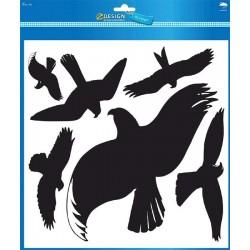 Etikety Avery Zweckform 4485 Siluety dravých ptáků