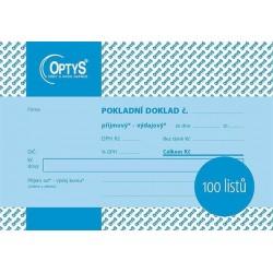 Tiskopis UPD Univerzální pokladní doklad A6 100l, nečíslovaný, OPT 1094