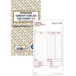 Tiskopis Paragon BAL daňový doklad 1+1 číslovaný NCR PT012