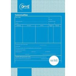 Tiskopis Cestovní příkaz A4, OPT 1050