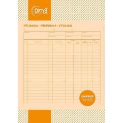Tiskopis Příjemka,převodka,výdejka A4, samopropisovací, OPT 1075
