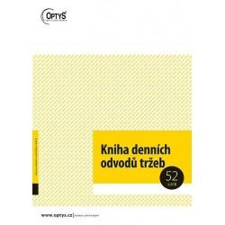 Tiskopis Kniha denních odvodů tržeb A4, OPT 1095