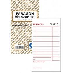 Tiskopis Paragon BAL číslovaný 1+1 NCR PT007