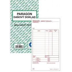 Tiskopis Paragon BAL daňový doklad EKO ET010