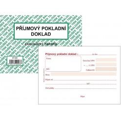 Tiskopis Příjmový pokladní doklad A6 PPD I. BAL EKO ET020