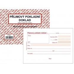 Tiskopis Příjmový pokladní doklad A6 PPD I. BAL NCR PT020