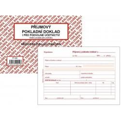 Tiskopis Příjmový pokladní doklad A6 PPD II. BAL NCR PT030