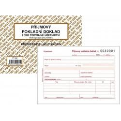 Tiskopis Příjmový pokladní doklad A6 PPD II. 1+1 čísl. BAL NCR PT032