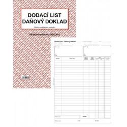 Tiskopis Dodací list - daňový doklad A4 BAL NCR PT150