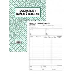 Tiskopis Dodací list - daňový doklad A5 BAL EKO ET130