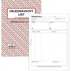 Tiskopis Objednávka A5 BAL NCR PT160