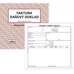 Tiskopis Faktura - daňový doklad 2/3 A4 BAL NCR PT200