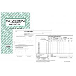 Tiskopis Cestovní příkaz vyúčtování A5 BAL EKO ET230