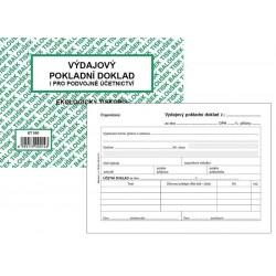 Tiskopis VPD II. Výdajový pokladní doklad A6 BAL EKO ET050