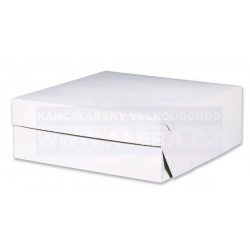 Zboží na objednávku - Krabice dortová 22x22x9cm/ 50ks