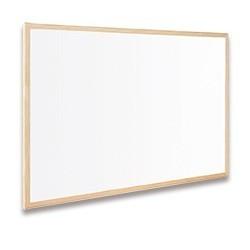 Zboží na objednávku - Tabule Bi-Office magnetická popisovatelná 60x80cm dřevěný rám