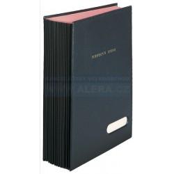 Zboží na objednávku - Podpisová kniha HANIBAL 16 listů na formát A4