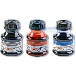 Razítková barva KOH-I-NOOR 50ml + štěteček
