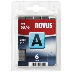Spony do sešívačky 53/6 2000ks Novus