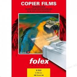 Zboží na objednávku - Fólie FOLEX X-10 A4 100listů čb kopírování/laser