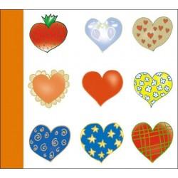 Obal na CD/1 kniha/CDCover/Hearts