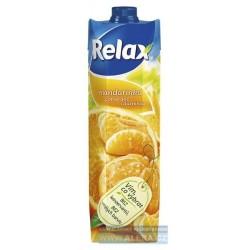 Nápoj juice RELAX 1lt mandarinka + pomeranč s dužinou