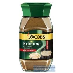 Káva Jacobs KRONUNG Espresso 200g instantní