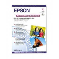 Papír Epson S041315 Paper A3 Premium Glossy Photo 20listů