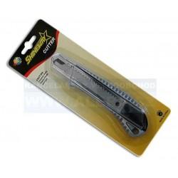 Nůž ulamovací velký s vodicí lištou celokovový - blistr