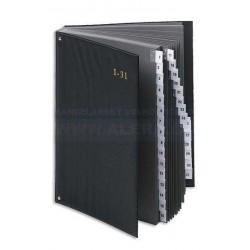 Třídicí kniha Pultordner 1-31 černá