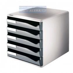 Zboží na objednávku - Zásuvkový box Leitz 5 zásuvek 52800089 šedý