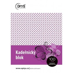 Tiskopis Kadeřnický blok karbon A5, OPT 1271