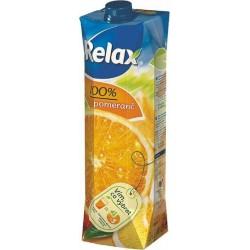 Nápoj juice RELAX 1lt pomeranč 100%