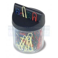 Zásobník na spony magnetický RON 453B včetně 100ks barevných spon 32mm