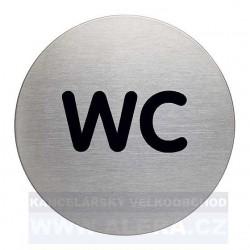 Informační piktogram nerez Durable 4907 WC
