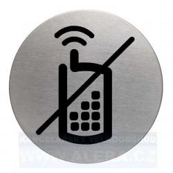 Zboží na objednávku - Informační piktogram nerez Durable 4917 vypnout mobil