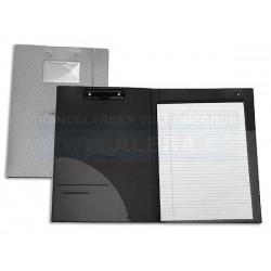 Deska psací podložka dvojitá A4 horní klip FOLDERMATE BSS793 s blokem černá