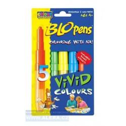Popisovač Centropen 1500 /5 PB5-62 VIVID colours - foukací fixy