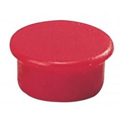 Magnet 13mm Dahle 95513 červený v balení 10ks