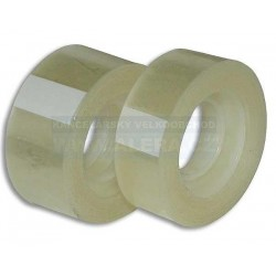 Páska lepicí 15x33m transparentní CONCORDE sáček