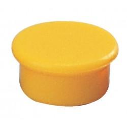 Zboží na objednávku - Magnet 13mm Dahle 95513 žlutý v balení 10ks