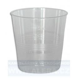 Kelímek-plast 0,05/50ks transparentní KRYSTAL