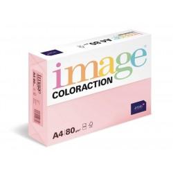 Papír COLORACTION A4 160g/250 Tropic pastelově růžová OPI74