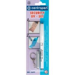 Popisovač speciální 2699 + svítilna - security UV set