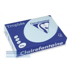 Zboží na objednávku - Papír Clairefontaine A3/160g/250 1113 azurově modrá