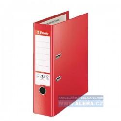 VÝPRODEJ - Pořadač Esselte No.1 POWER PLUS Vivida A4+ 8cm pákový 81183 červený