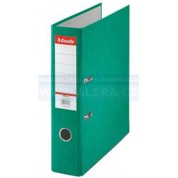 VÝPRODEJ - Pořadač Esselte Rainbow A4 7,5cm pákový 17927 prešpán zelený