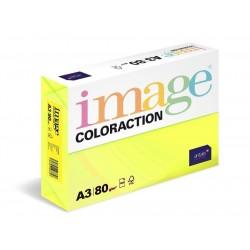 Papír COLORACTION A3 80g/500 neon žlutá Ibiza NEOGb