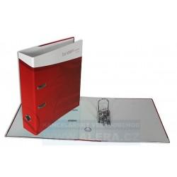 Zboží na objednávku - Pořadač HIT A4 7cm pákový lamino rado Léto červený