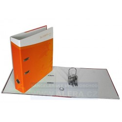 Zboží na objednávku - Pořadač HIT A4 7cm pákový lamino rado Podzim oranžový